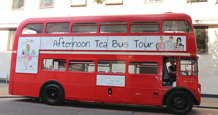 BB Bakery's Afternoon Tea Vintage Routemaster Bus London
